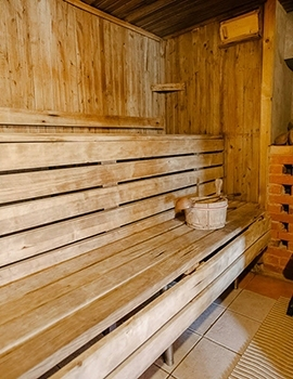 Bathhouse in Lithuania Silute